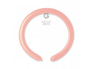 Balónek modelovací #073 baby růžový (100ks/bal)