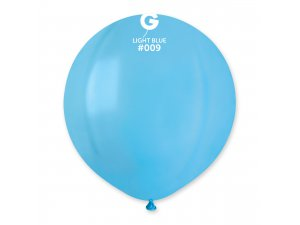 """Balónek 48cm/19"""" #009 světle modrý"""