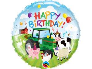 """18"""" fóliový balónek - Narozeninová farma"""