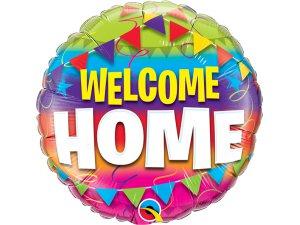 """18"""" fóliový kruh - Vítej doma!"""