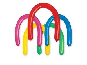 Balónek modelovací velký (130cm:8cm) #080 barevný mix (100ks/bal)