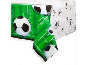 "Ubrus plastový ,,3D fotbal"" 137x213 cm"