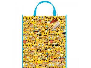 """Dárková taška ,,Usměvavé obličeje"""" 28x33cm"""