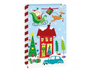 Taška dárková velká - Santa