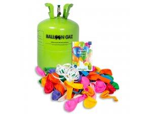 HELIUM na 50 balónků + 50 balónků BalloonGaz