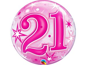 """22"""" bublina - Růžové narozeniny 21"""