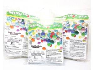 Síť na 500 padajících balónků