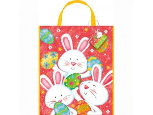 """Taška dárková ,,Velikonoční zajíček"""" 52x31cm"""