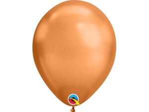 "Balónek Qualatex CHROME 11"" měděný"