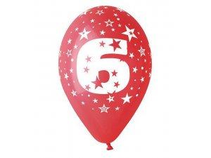"""OB balónky GS110 """"6"""" (6ks)"""