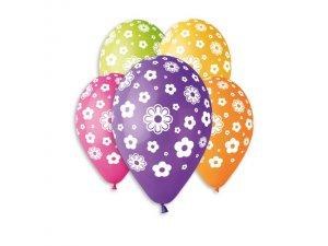 OB balónky GS110 květiny 6 ks