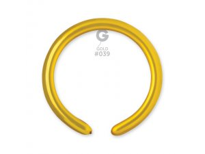 Balónek modelovací #039 zlatý (100ks/bal)