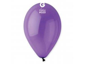 """Balónek 30cm/12"""" #020 fialový"""
