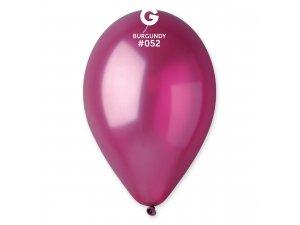 OB balónky GM90 - 10 balónků bordó 52