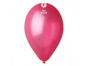 OB balónky GM90 - 10 balónků červené 32