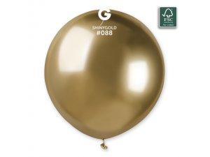 """Balónek 48cm/19"""" #088 zlatý lesklý"""