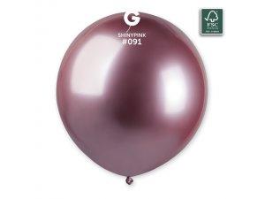 "Balónek 48cm/19"" #091 růžový lesklý"