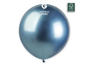 "Balónek 48cm/19"" #092 SHINY modrý"