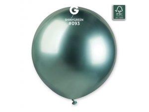 """Balónek 48cm/19"""" #093 zelený lesklý"""