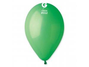 """Balónek 33cm/13"""" #012 zelený ZIP BAGS"""