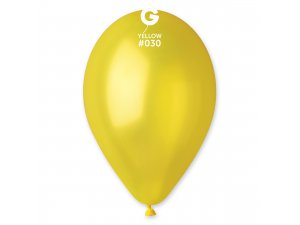 "Balónek 30cm/12"" #030 žlutá ZIP BAG"