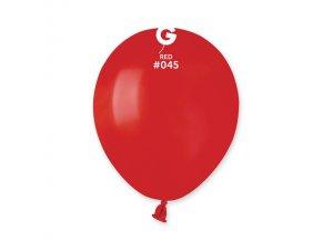 """Balónek 13cm/5"""" #045 červený"""