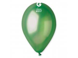 """Balónek 30cm/12"""" #037 zelená ZIP BAG"""