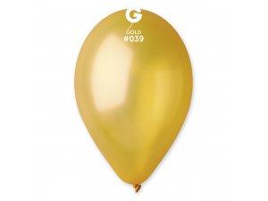 """Balónek 30cm/12"""" #039 zlatá ZIP BAG"""
