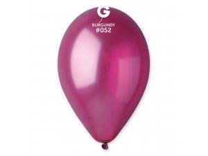 "Balónek 30cm/12"" #052 bordó ZIP BAG"