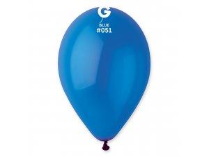 """Balónek 30cm/12"""" #051 modrý"""
