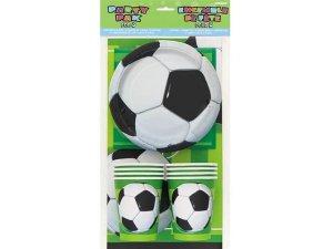 3D Fotbalová party sada na stůl pro 8 osob