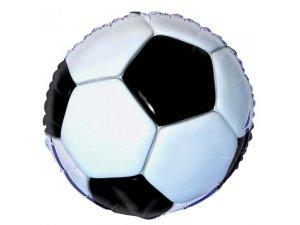 """18"""" foliový balónek kruh - 3D Fotbalový míč"""