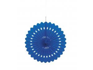 Dekorační rozeta královsky modrá