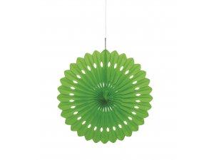 Dekorační rozeta limetově zelená