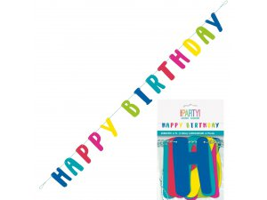 "Girlanda ""Happy birthday"" 1.83m"