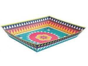 Svačinkový tác papírový - Fiesta, 1ks
