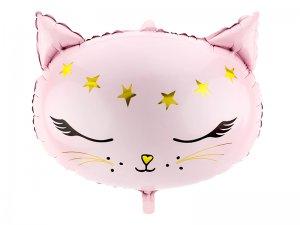"""Foliový balónek """"Kočička"""" růžový"""