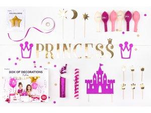 """Dekorační set na party """"Princezna"""""""