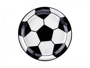 """Talířky papírové """"Fotbalový míč"""" 18cm, 6ks"""