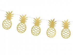 """Girlanda """"Aloha ananasy"""""""