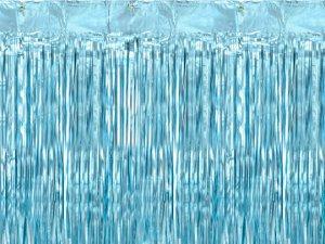 Party závěs modrý 0.9x2.5m