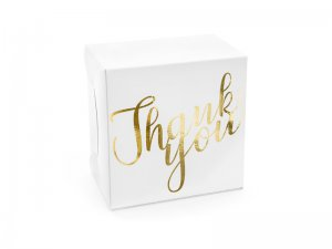 "Krabičky na výslužku ""Thank you"", 10ks"