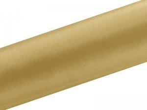 Dekorační satén zlatý 0.16x9m