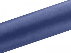 Dekorační satén tmavě modrý 0.16x9m