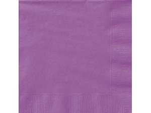 Papírové ubrousky fialové dvouvrstvé, 20ks