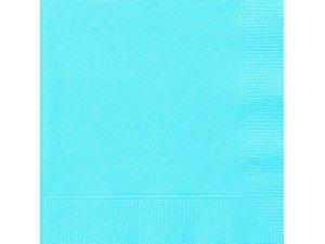 Papírové ubrousky modré dvouvrstvé, 20ks