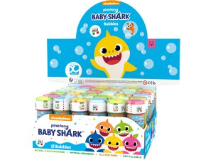 Bublifuk 60ml BABY SHARK