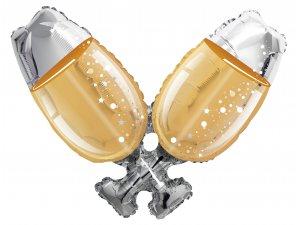 Balónek 91cm - Champagne sklo