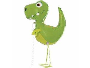 "37"" fóliový balónek - Chodící dinosaurus"