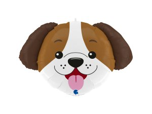 """33"""" fóliový balónek - hlava psa"""